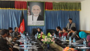 Advocacy session with Daikundi Governor