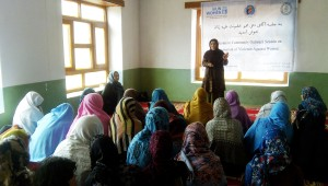 Community Outreach session on Elimination of Violence Against Women