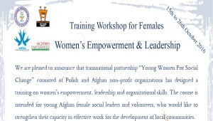Women's Empowerment & Leadership Training