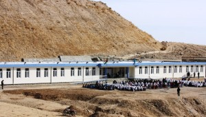 Facilitation of Gandanaik Grill's High School's Construction