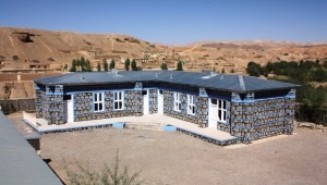 The Extension Building for Zarin Girl's High School has completed